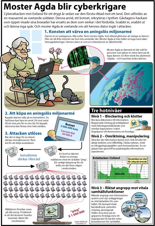 Moster Agda blir cyberkrigare